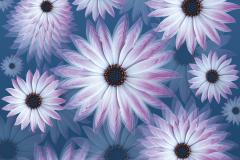 FRACTAL 3 series UNIVERSE, 2014 Pigment print, 100x100 сm